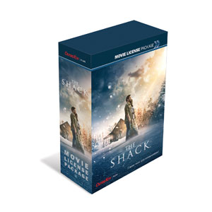 The Shack Movie Event Package Standard DVD Events