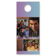 Estan Invitados Door Hanger