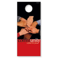 Community Door Hanger