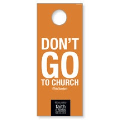 Faith In Action Door Hanger