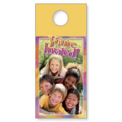 Kids Pyramid Door Hangers
