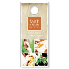 Faith in Action Difference Door Hanger