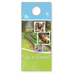 Spring Path Door Hanger