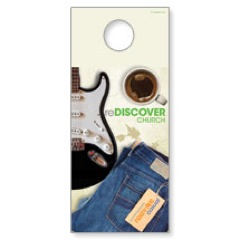 ReDiscover Church Coffee Door Hanger