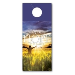 Easter Hope Field Door Hangers