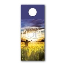 Easter Hope Field Door Hanger