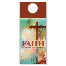 Renewed Faith Door Hanger