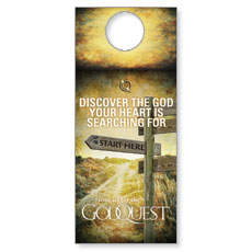 GodQuest Sign Post Door Hanger