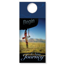 New Journey Door Hanger