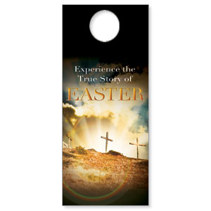 True Story Easter Door Hangers