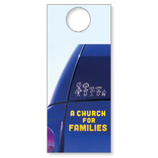 A Church for Families Door Hanger