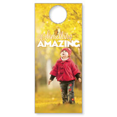 Something Amazing Door Hanger