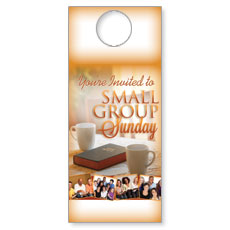 Wow! Sunday Small Group Sunday Door Hanger