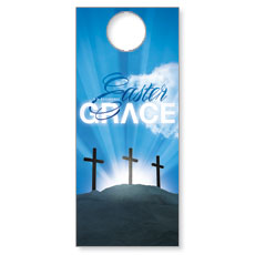 Easter Grace Door Hanger