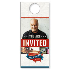 Harvest America Door Hanger