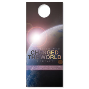 Changed the World Door Hangers