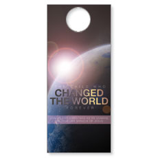 Changed the World Door Hanger