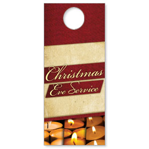 Christmas Eve Lights DoorHangers