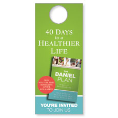 Daniel Plan Door Hanger