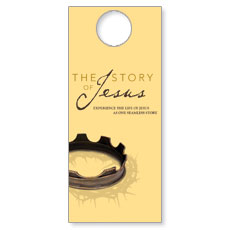The Story Of Jesus Door Hanger