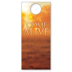 Alive Clouds Door Hanger