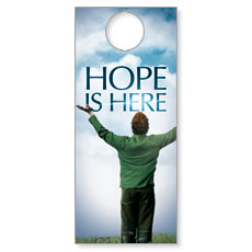 Hope is Here Door Hanger