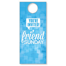 Friend Sunday 2014 Door Hanger