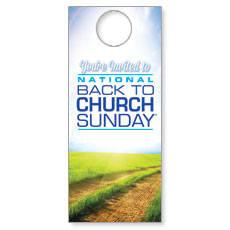 Back to Church Sunday 2014 Door Hanger