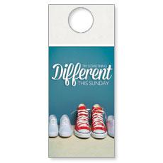 Different Shoes Door Hanger