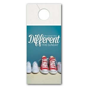 Different Shoes Door Hangers
