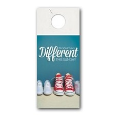 Different Shoes Door Hanger