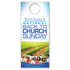 BTCS 2014 Invited Family Door Hanger
