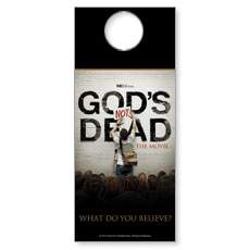 God's Not Dead Door Hanger