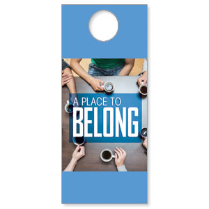 Overhead Belong DoorHangers