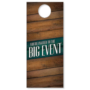 Big Event Door Hangers