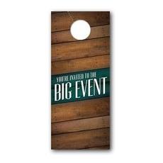 Big Event Door Hanger