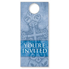 Cross Welcome Door Hanger