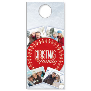 Christmas Family Door Hangers