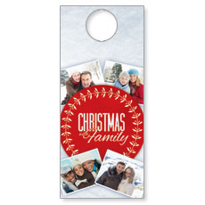 Christmas Family Door Hanger