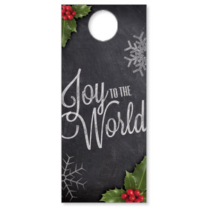Chalk Joy DoorHangers