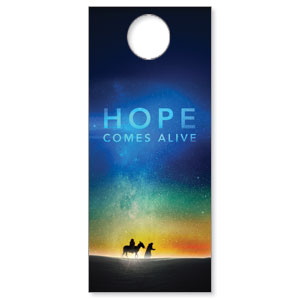 Hope Comes Alive Door Hangers