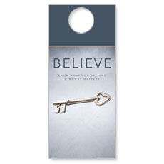 Believe Door Hanger