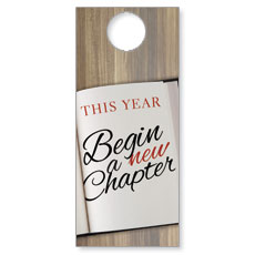 New Chapter Door Hanger