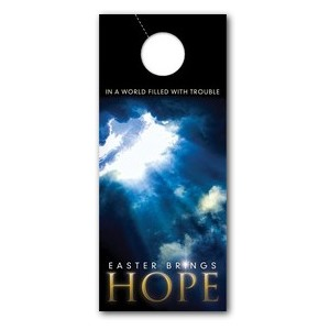 Hope Breaks Through Door Hangers