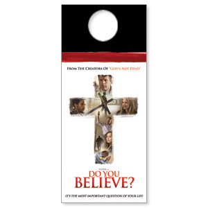 Do You Believe Door Hangers