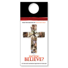 Do You Believe Door Hanger
