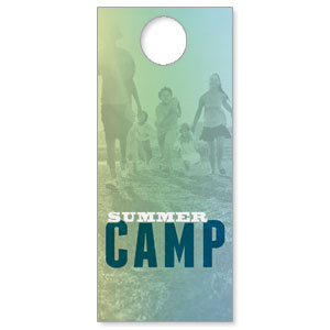 Summer Camp Door Hangers