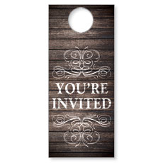 Rustic Charm Welcome Door Hanger