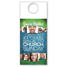 Back to Church Sunday 2015 Door Hanger