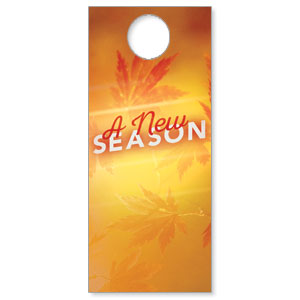New Season Leaves Door Hangers